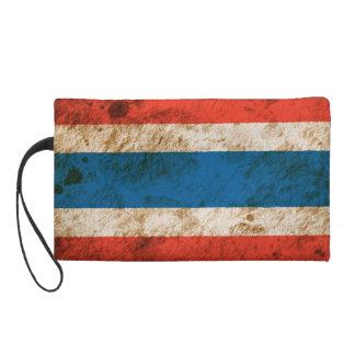 Rugged Thai Flag Wristlet
