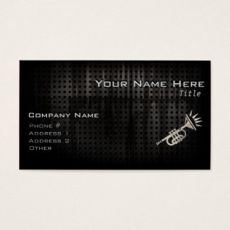 Rugged Trumpet Business Card