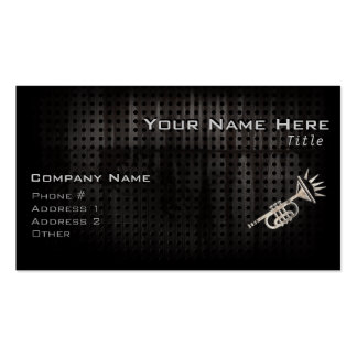 Rugged Trumpet Double-Sided Standard Business Cards (Pack Of 100)