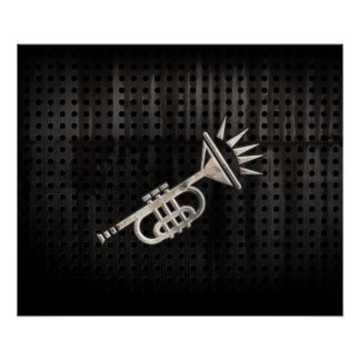 Rugged Trumpet Poster
