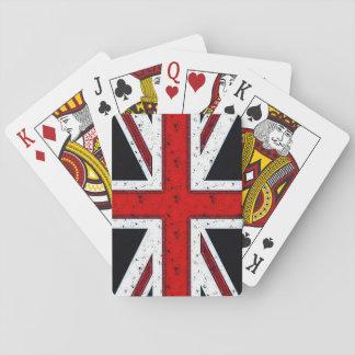Rugged Union Jack Card Decks