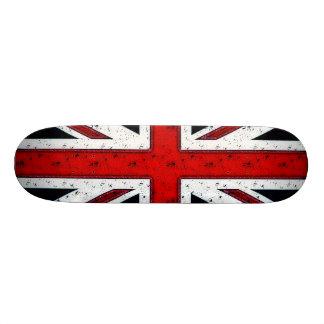 Rugged Union Jack Skateboard Deck