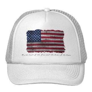 Rugged USA Flag Trucker Hat