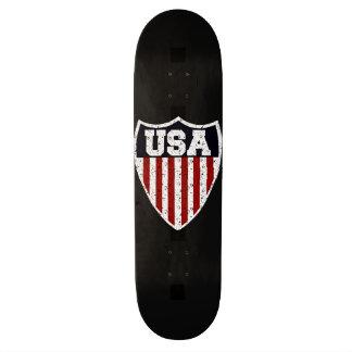 Rugged USA Supporters Shield Skateboard Deck
