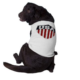 Rugged USA Supporters Shield T-Shirt