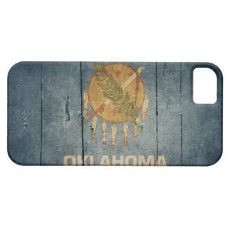 Rugged Wood Oklahoma Flag iPhone 5 Case
