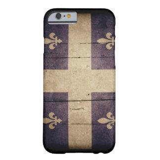 Rugged Wood Quebec Flag iPhone 6 Case