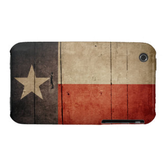 Rugged Wood Texas Flag Case-Mate iPhone 3 Case