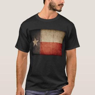 Rugged Wood Texas Flag T-Shirt