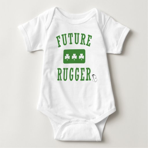 Rugger futuro - irlandés (jbRUGBY) Playera