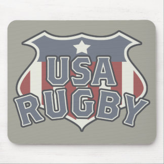 Ruggershirts USA Rugby Mousepad
