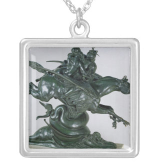 Ruggiero and Angelica Silver Plated Necklace
