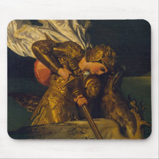Ruggiero Rescuing Angelica Mouse Pad