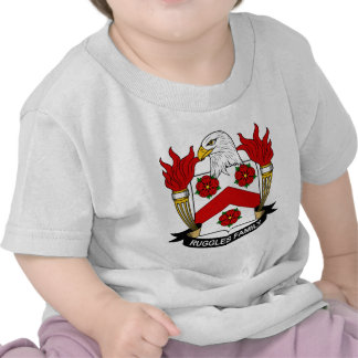 Ruggles Family Crest Tees