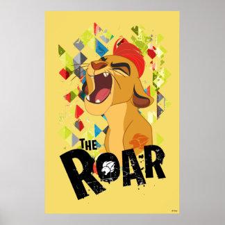 Rugido del guardia el | Kion del león Póster