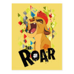 Rugido del guardia el | Kion del león Tarjetas Postales