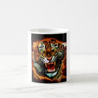Rugido del tigre taza de café