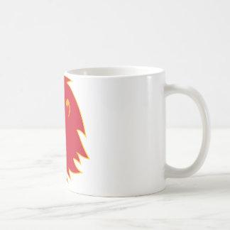 rugido principal del león enojado tazas de café