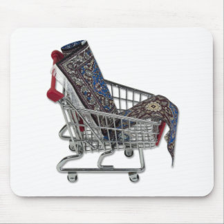 RugsShoppingCart090410 Mouse Pad