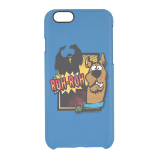 Ruh-Roh Scooby-Doo and a Ghost Uncommon Clearly™ Deflector iPhone 6 Case
