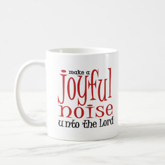 Ruido alegre taza de café