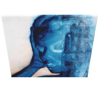 Ruido blanco 2007 impresión en lienzo