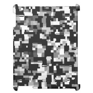 Ruido de fondo en negro y blanco