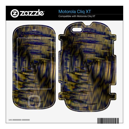 Ruido Skins Para Motorola Cliq XT