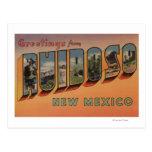 Ruidoso, New Mexico - Large Letter Scenes Postcard