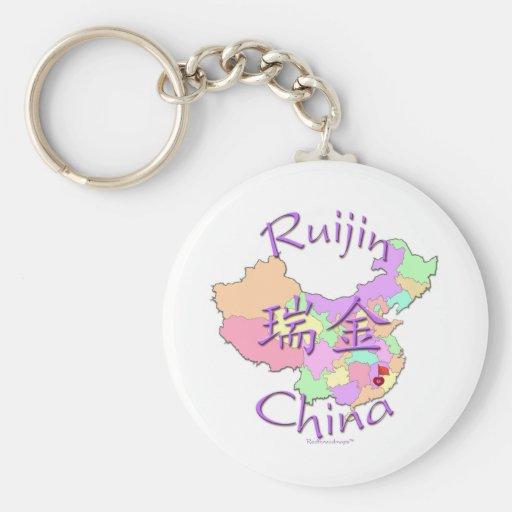 Ruijin China Keychain