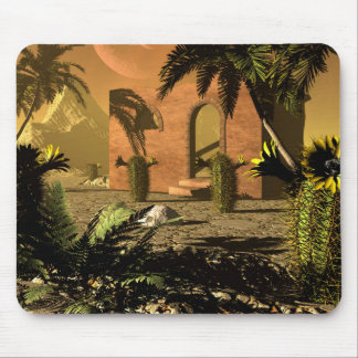 Ruin in the sunet mouse pad