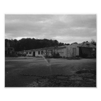 Ruina de industria fotografías
