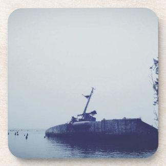 Ruina de la nave posavasos de bebidas