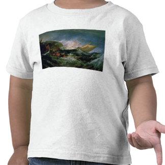 Ruina de una nave de transporte camiseta