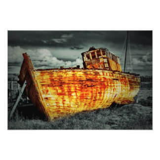 Ruina del barco cojinete