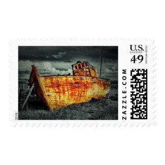 Ruina del barco sello