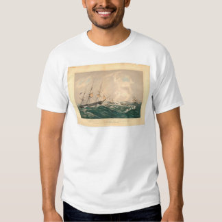 "Ruina del buque de vapor ""San Francisco"" (1877A) Remeras"