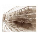 Ruina del tren de Michigan Tarjeta Postal