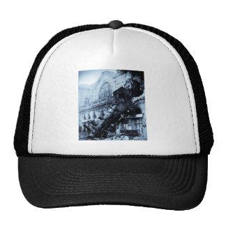Ruina del tren en Montparnasse, el 22 de octubre d Gorra