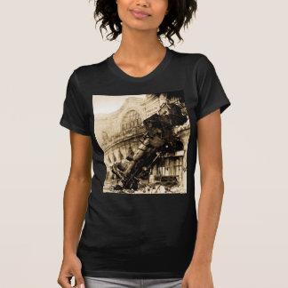 Ruina del tren en Montparnasse, el 22 de octubre Camiseta