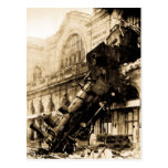 Ruina del tren en Montparnasse, el 22 de octubre Tarjeta Postal