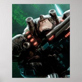 Ruina-él Rafael con el arma Poster