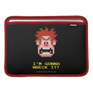 Ruina-él Rafael: ¡Voy a arruinarlo! Funda MacBook