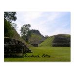 Ruina maya de Xunantunich Tarjetas Postales