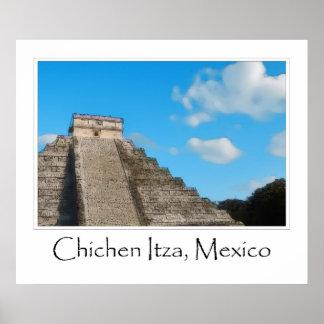 Ruina maya México de Chichen Itza Impresiones
