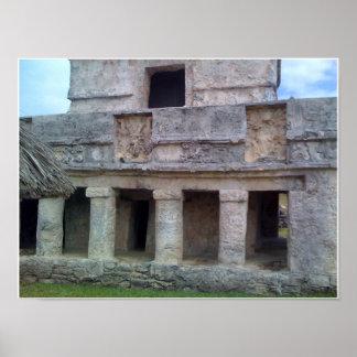 Ruina mexicana póster