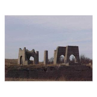 Ruinas americanas tarjeta postal