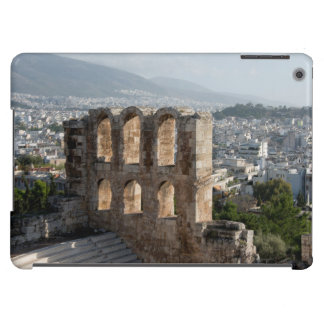 Ruinas antiguas de la acrópolis que pasan por alto