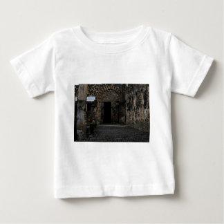 Ruinas antiguas de Pompeya Playera Para Bebé