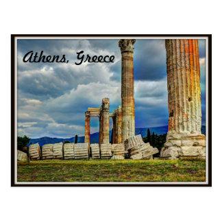 Ruinas antiguas en Atenas Grecia Postales